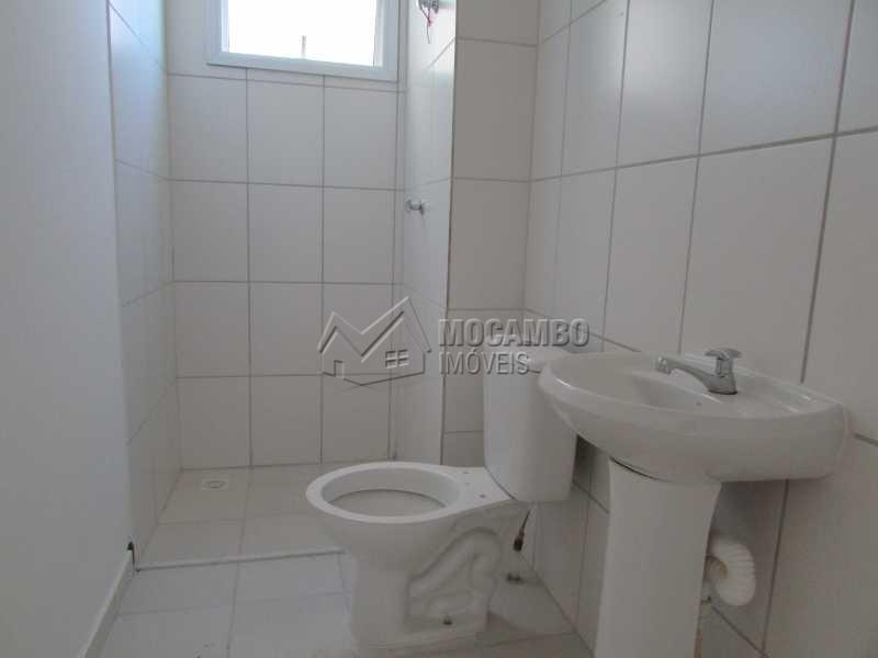 Banheiro Social  - Apartamento Itatiba,Bairro da Ponte,SP À Venda,2 Quartos,54m² - FCAP20503 - 6