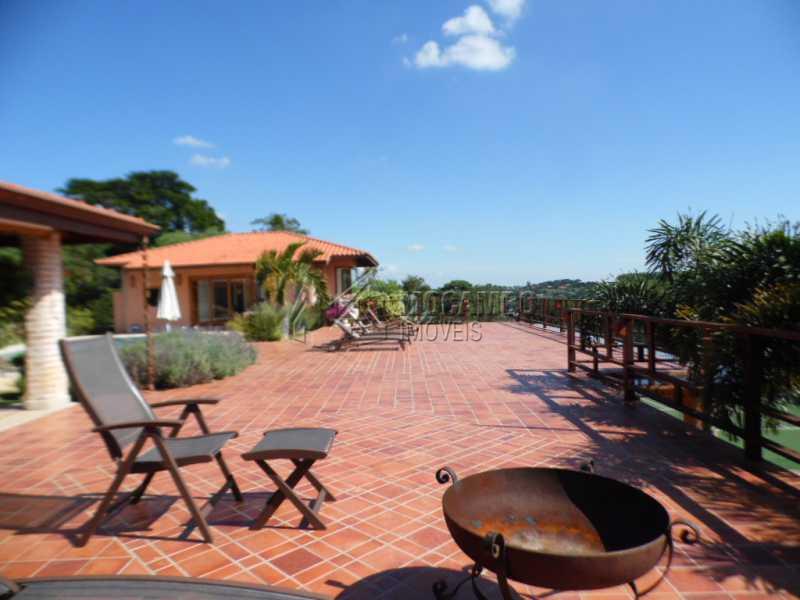 Terraço  - Casa Para Venda ou Aluguel no Condomínio Itaembú - Sítio da Moenda - Itatiba - SP - FCCN30239 - 24