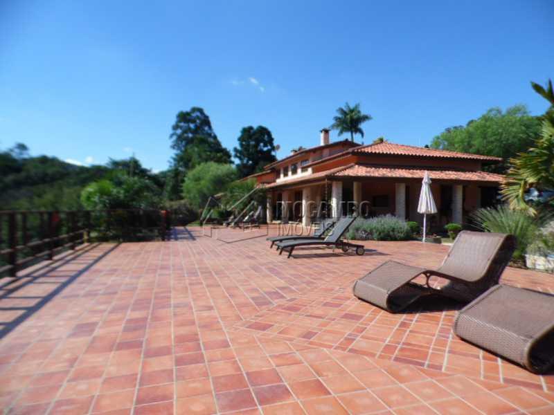 Terraço  - Casa Para Venda ou Aluguel no Condomínio Itaembú - Sítio da Moenda - Itatiba - SP - FCCN30239 - 26