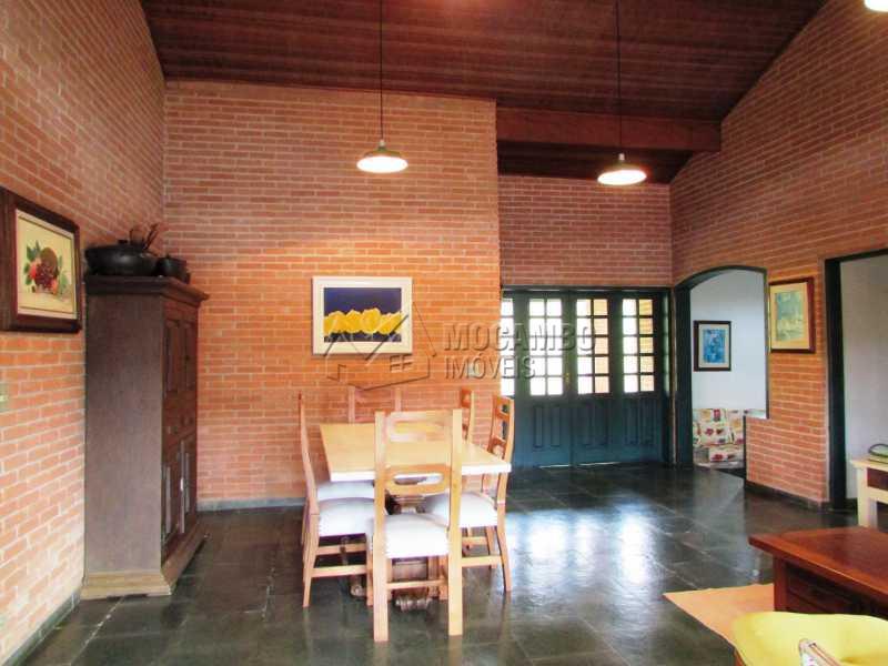 Sala de Jantar  - Casa em Condominio em condomínio À Venda - Condomínio Capela do Barreiro - Itatiba - SP - Capela do Barreiro - FCCN30247 - 15