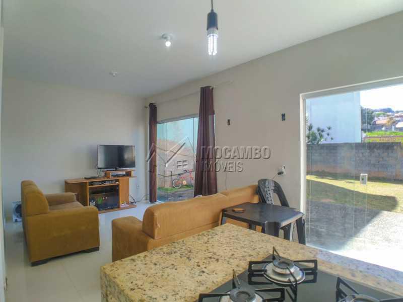 Cozinha e sala - Casa 3 quartos à venda Itatiba,SP - R$ 380.000 - FCCA30907 - 1