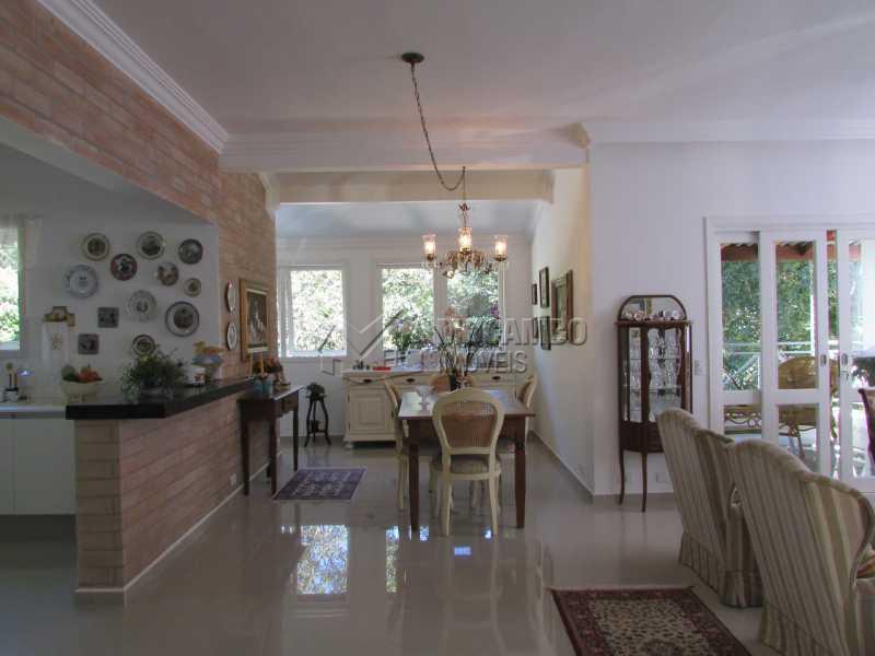 Sala  - Casa em Condomínio 4 Quartos À Venda Itatiba,SP - R$ 1.150.000 - FCCN40083 - 4