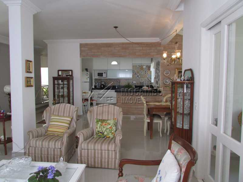 Sala de Estar  - Casa em Condomínio 4 Quartos À Venda Itatiba,SP - R$ 1.150.000 - FCCN40083 - 5