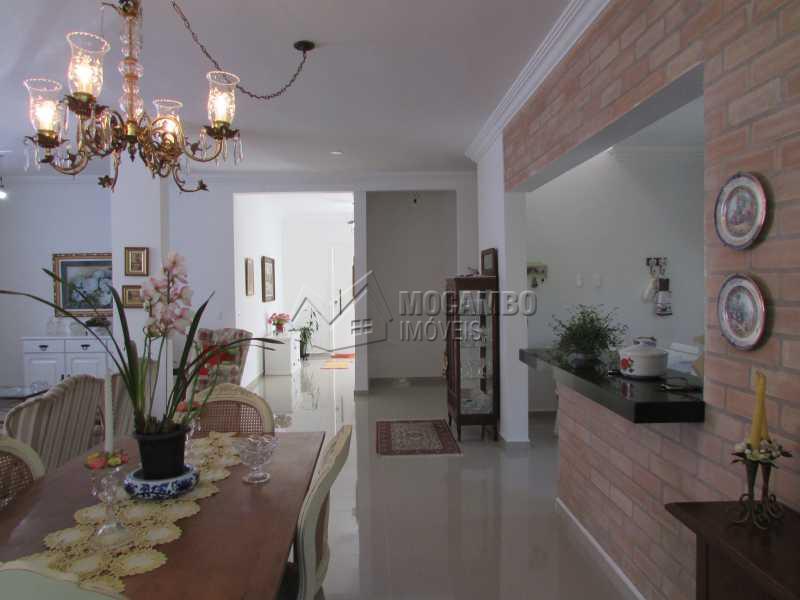 Sala de Jantar  - Casa em Condomínio 4 Quartos À Venda Itatiba,SP - R$ 1.150.000 - FCCN40083 - 10