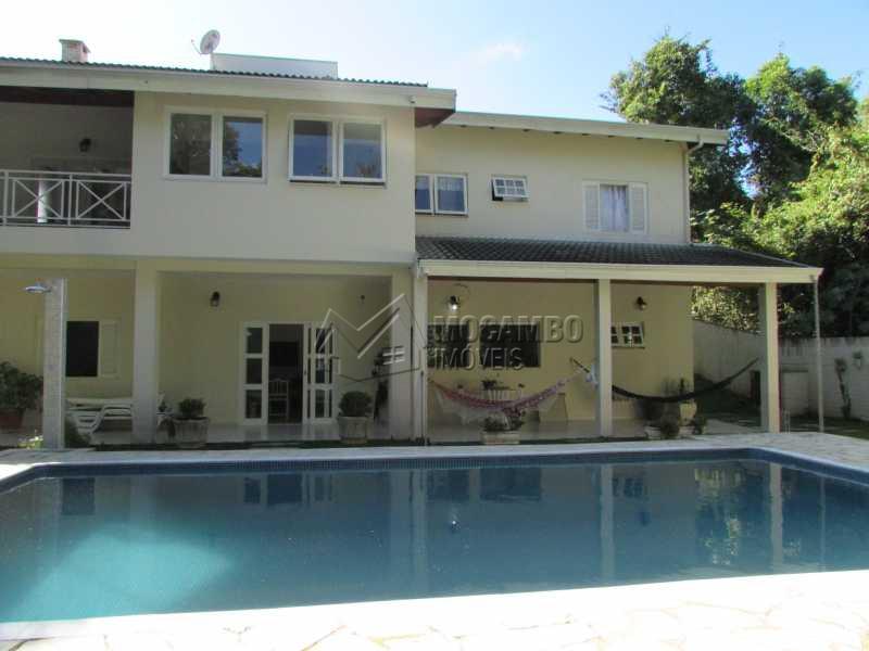 Área externa  - Casa em Condomínio 4 Quartos À Venda Itatiba,SP - R$ 1.150.000 - FCCN40083 - 29