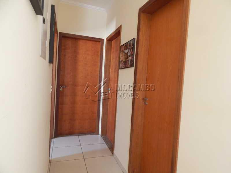 Corredor - Casa 3 quartos à venda Itatiba,SP - R$ 460.000 - FCCA30917 - 5