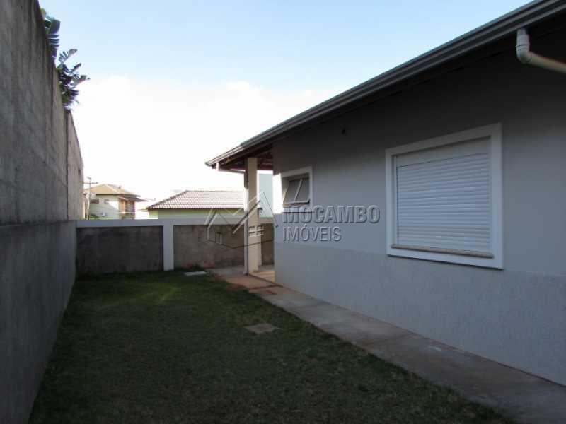 Quintal - Casa em Condominio À Venda - Itatiba - SP - Residencial Fazenda Serrinha - FCCN30257 - 20