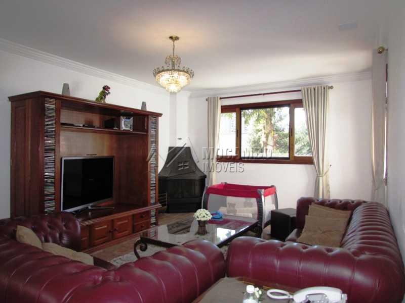 Sala lareira - Casa em Condomínio à venda Alameda Áustria,Barueri,SP - R$ 2.800.000 - FCCN40087 - 4