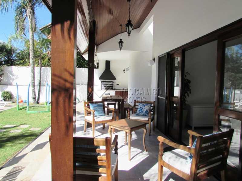 Varanda - Casa em Condomínio à venda Alameda Áustria,Barueri,SP - R$ 2.800.000 - FCCN40087 - 24