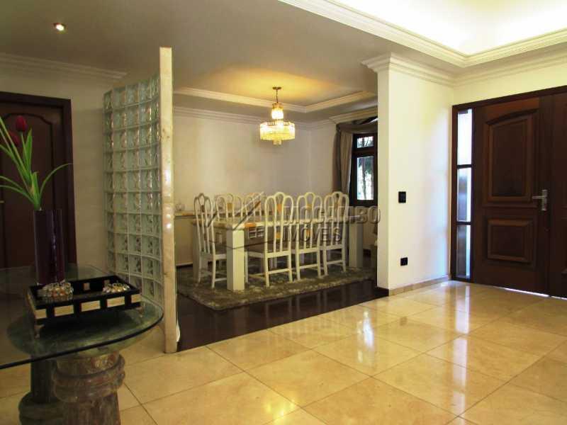 Hall e ao lado Jantar II - Casa em Condomínio à venda Alameda Áustria,Barueri,SP - R$ 2.800.000 - FCCN40087 - 8