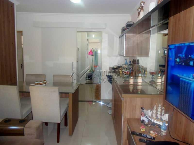 Sala Planejada - Apartamento À Venda - Itatiba - SP - Loteamento Rei de Ouro - FCAP20542 - 1