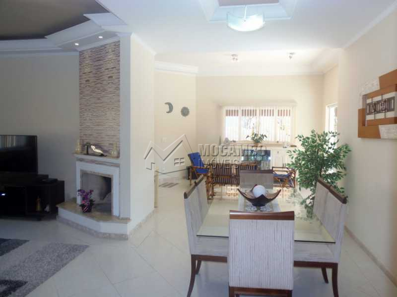 Sala - Casa em Condominio À Venda - Itatiba - SP - Condomínio Ville Chamonix - FCCN30267 - 6