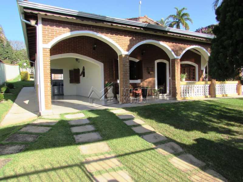 Fachada - Casa em Condominio Rodovia Romildo Prado,Itatiba,Bairro Itapema,SP À Venda,3 Quartos,240m² - FCCN30270 - 3
