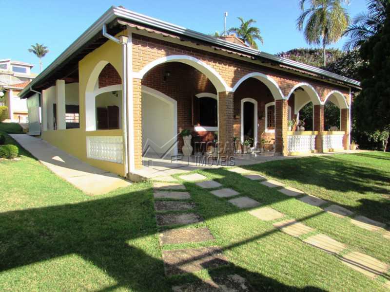 Fachada - Casa em Condominio Rodovia Romildo Prado,Itatiba,Bairro Itapema,SP À Venda,3 Quartos,240m² - FCCN30270 - 1