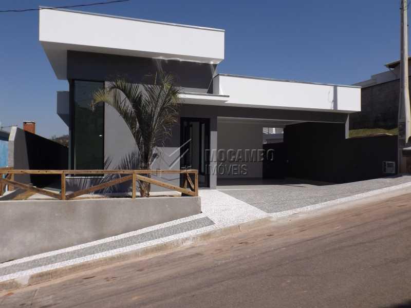 Fachada  - Casa em Condominio À Venda - Itatiba - SP - Residencial Fazenda Serrinha - FCCN30271 - 1