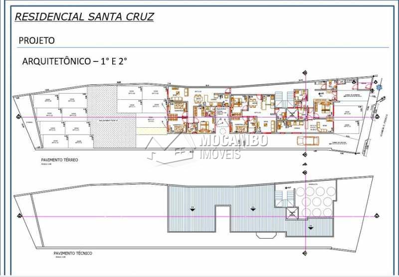 Terreno  - Terreno 668m² à venda Itatiba,SP - R$ 550.000 - FCMF00074 - 4