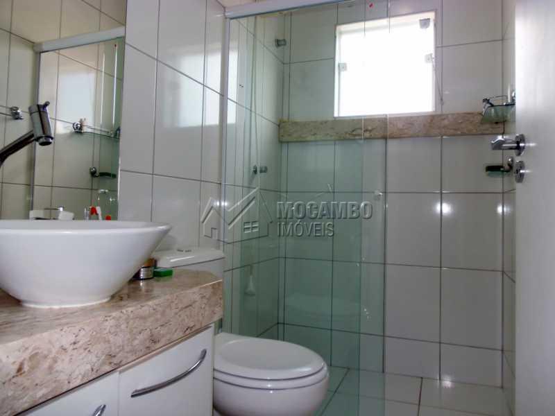 Banheiro Suíte - Casa em Condominio À Venda - Itatiba - SP - Residencial Fazenda Serrinha - FCCN30276 - 24