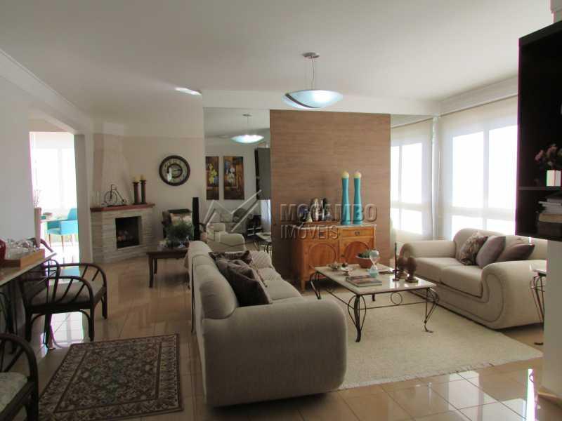 Sala de Estar - Casa 3 quartos à venda Itatiba,SP - R$ 800.000 - FCCA30939 - 3