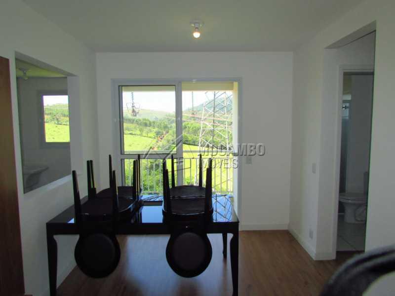 Sala - Apartamento Condomínio Edifício Residencial Green Ville, Itatiba, Bairro das Brotas, SP À Venda, 2 Quartos, 52m² - FCAP20568 - 4