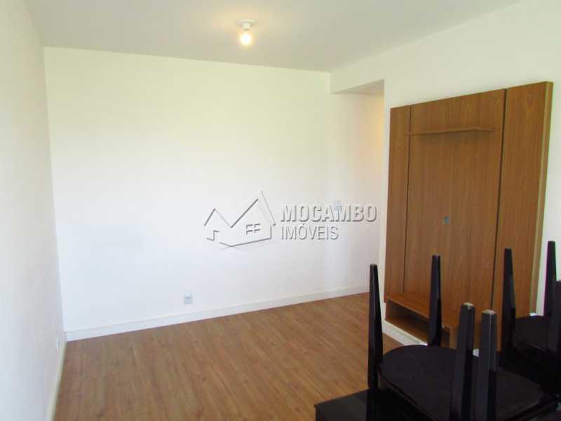 Sala - Apartamento Condomínio Edifício Residencial Green Ville, Itatiba, Bairro das Brotas, SP À Venda, 2 Quartos, 52m² - FCAP20568 - 3