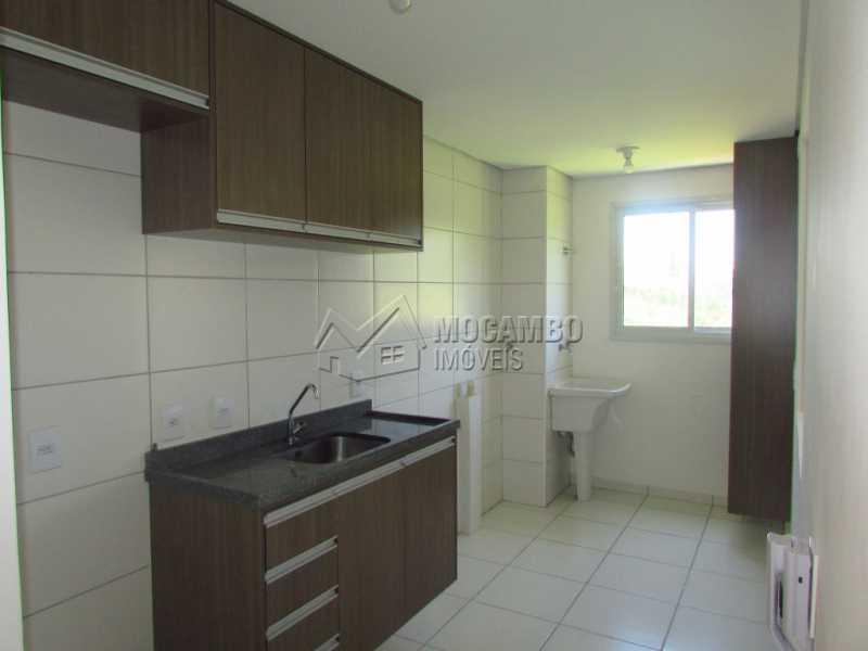 Cozinha  - Apartamento Condomínio Edifício Residencial Green Ville, Itatiba, Bairro das Brotas, SP À Venda, 2 Quartos, 52m² - FCAP20568 - 8