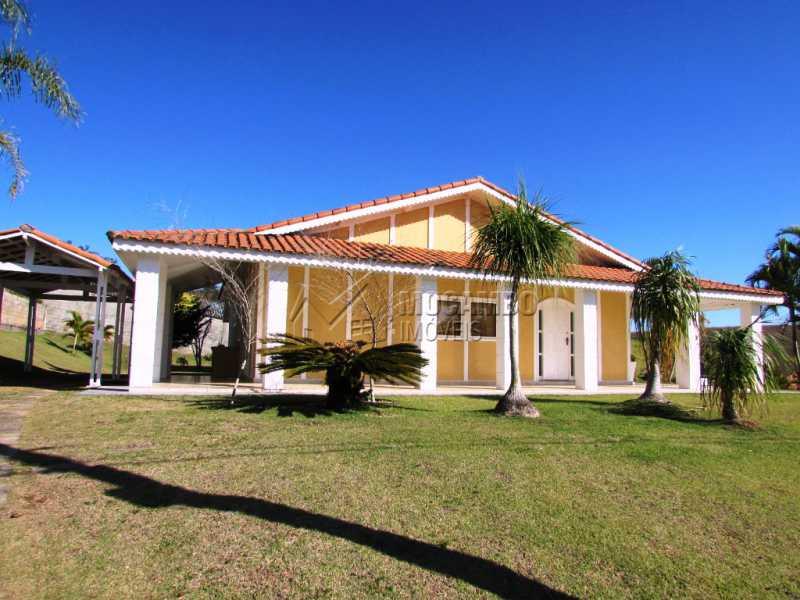 Fachada - Casa À Venda no Condomínio Ville Chamonix - Jardim Nossa Senhora das Graças - Itatiba - SP - FCCN30281 - 3