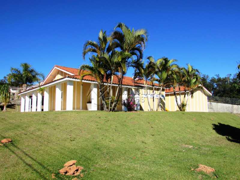 Fachada - Casa À Venda no Condomínio Ville Chamonix - Jardim Nossa Senhora das Graças - Itatiba - SP - FCCN30281 - 5