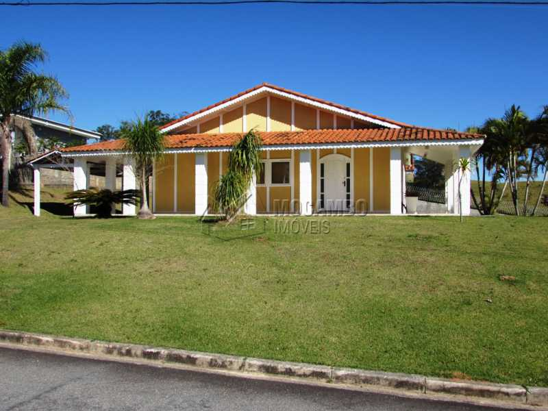 Fachada - Casa À Venda no Condomínio Ville Chamonix - Jardim Nossa Senhora das Graças - Itatiba - SP - FCCN30281 - 1