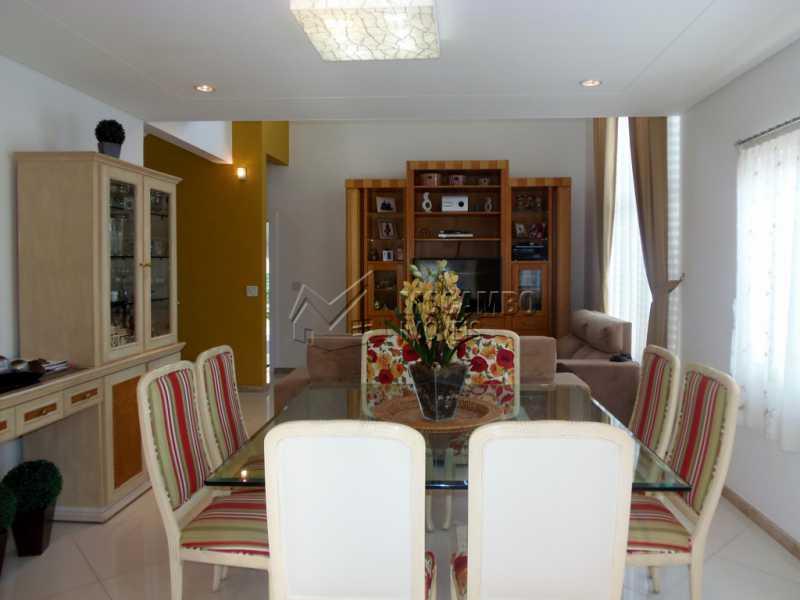 Sala de Jantar - Casa em Condominio À Venda - Itatiba - SP - Residencial Fazenda Serrinha - FCCN30282 - 1