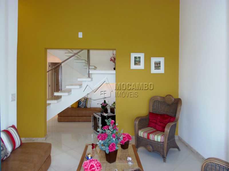 Sala de Estar - Casa em Condominio À Venda - Itatiba - SP - Residencial Fazenda Serrinha - FCCN30282 - 8