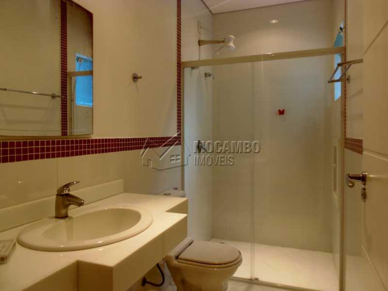 Banheiro Suíte - Casa em Condominio À Venda - Itatiba - SP - Residencial Fazenda Serrinha - FCCN30282 - 10
