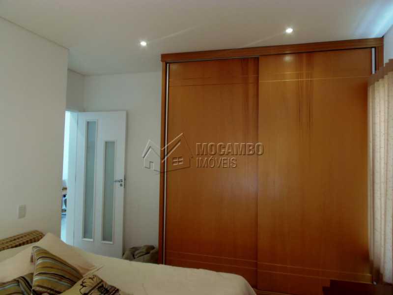 Dormitório com Armario - Casa em Condominio À Venda - Itatiba - SP - Residencial Fazenda Serrinha - FCCN30282 - 20
