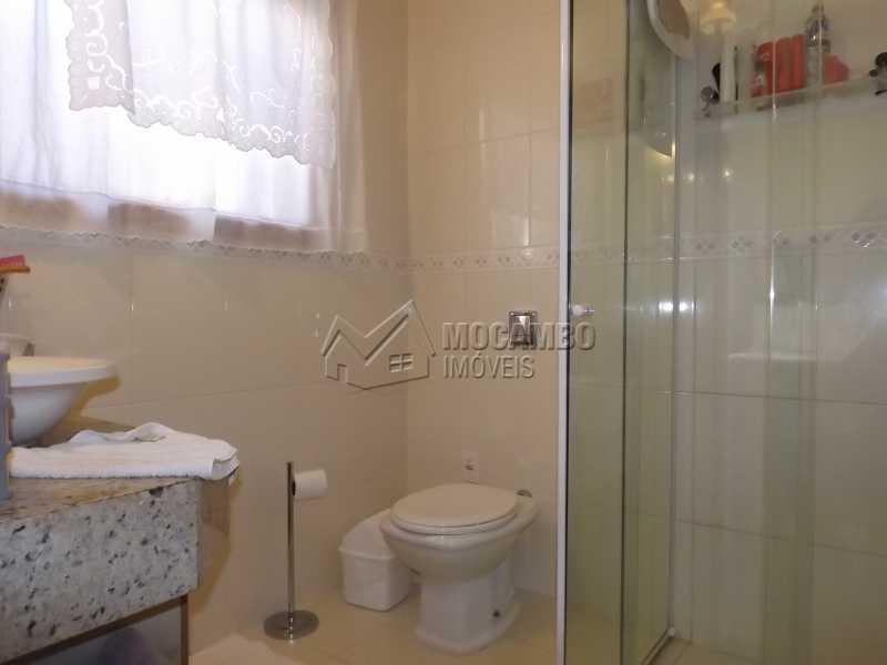 Banheiro da Suíte - Casa À Venda no Condomínio Itatiba Country Club - Residencial Fazenda Serrinha - Itatiba - SP - FCCN40091 - 10