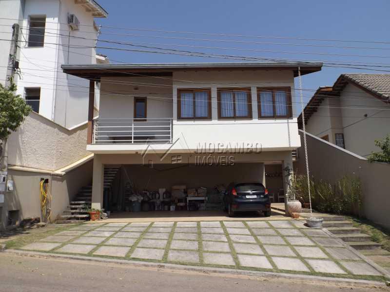 Fachada da Frente - Casa À Venda no Condomínio Itatiba Country Club - Residencial Fazenda Serrinha - Itatiba - SP - FCCN40091 - 1