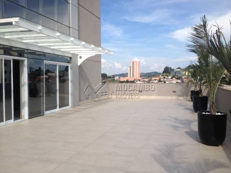 Terraço  - Sala Comercial em condomínio Para Alugar - Condomínio Edifício Office Center - Itatiba - SP - Centro - FCSL00136 - 7