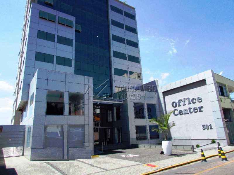 Fachada - Sala Comercial Para Alugar no Condomínio Edifício Office Center - Centro - Itatiba - SP - FCSL00136 - 1