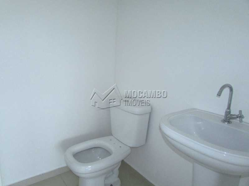 Banheiro 1 - Sala Comercial Para Alugar no Condomínio Edifício Office Center - Centro - Itatiba - SP - FCSL00135 - 16