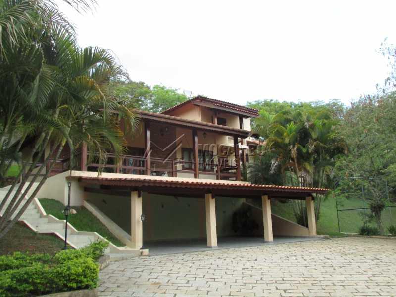 Fachada - Casa À Venda no Condomínio Itaembú - Sítio da Moenda - Itatiba - SP - FCCN30283 - 3