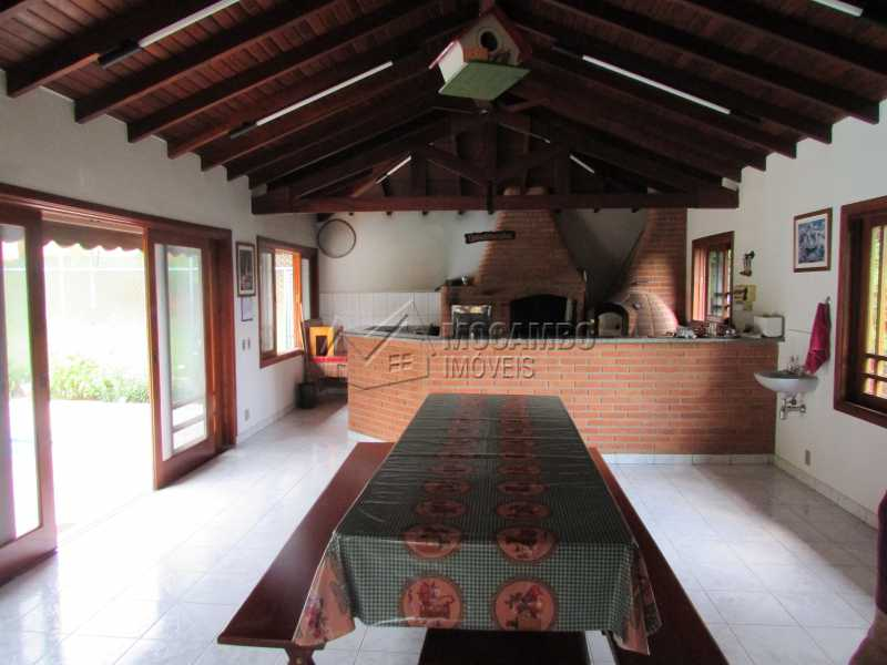 Área Gourmet - Casa À Venda no Condomínio Itaembú - Sítio da Moenda - Itatiba - SP - FCCN30283 - 16