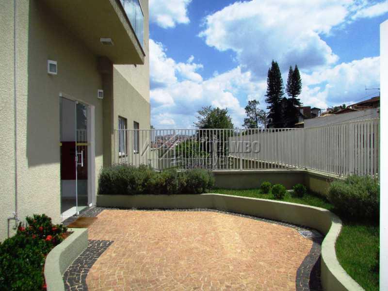 Portaria/jardim - Apartamento 2 quartos à venda Itatiba,SP - R$ 310.000 - FCAP20587 - 5