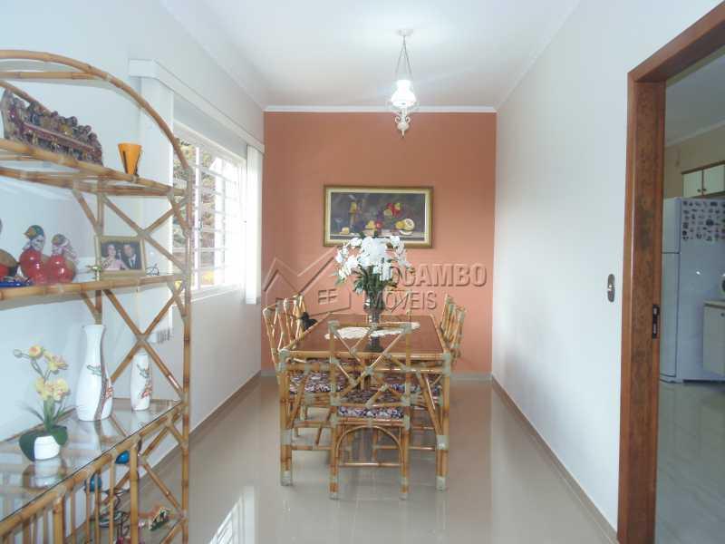 Sala de Jantar - Casa À Venda no Condomínio Capela do Barreiro - Capela do Barreiro - Itatiba - SP - FCCN30284 - 5