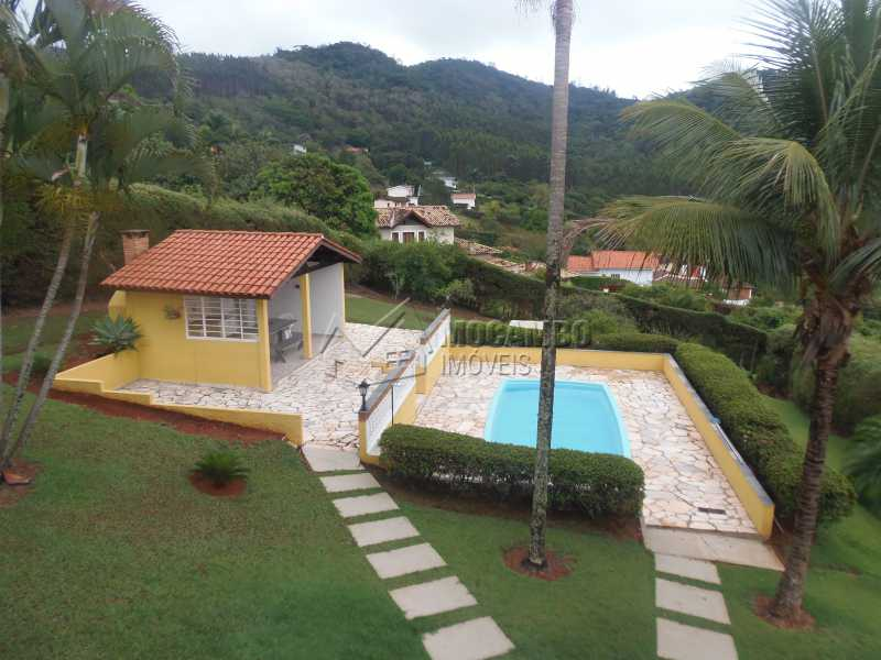 Área Gourmet com Piscina - Casa À Venda no Condomínio Capela do Barreiro - Capela do Barreiro - Itatiba - SP - FCCN30284 - 1