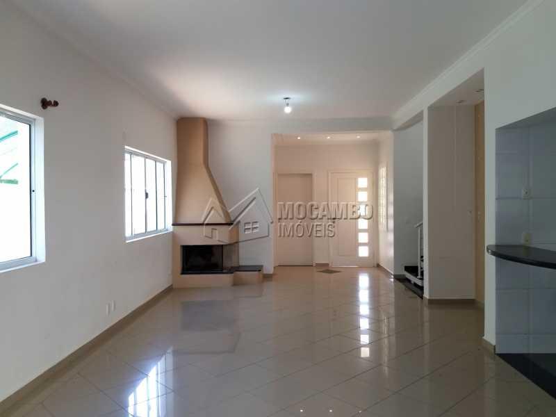 Sala - Casa em Condominio À Venda - Itatiba - SP - Residencial Fazenda Serrinha - FCCN30287 - 4