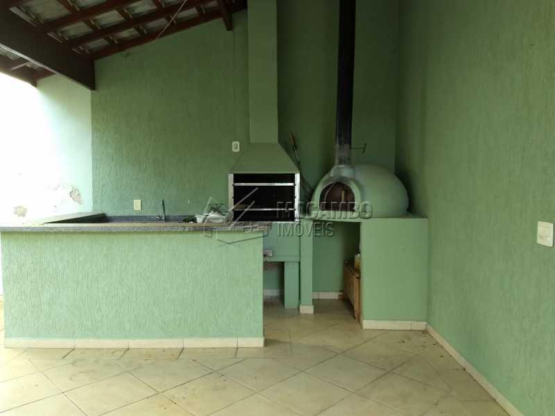 Área de Churrasqueira - Casa em Condominio À Venda - Itatiba - SP - Residencial Fazenda Serrinha - FCCN30287 - 16