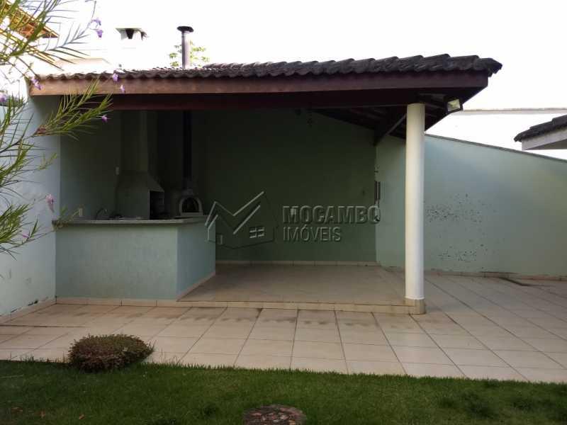 Área de Churrasqueira - Casa em Condominio À Venda - Itatiba - SP - Residencial Fazenda Serrinha - FCCN30287 - 15