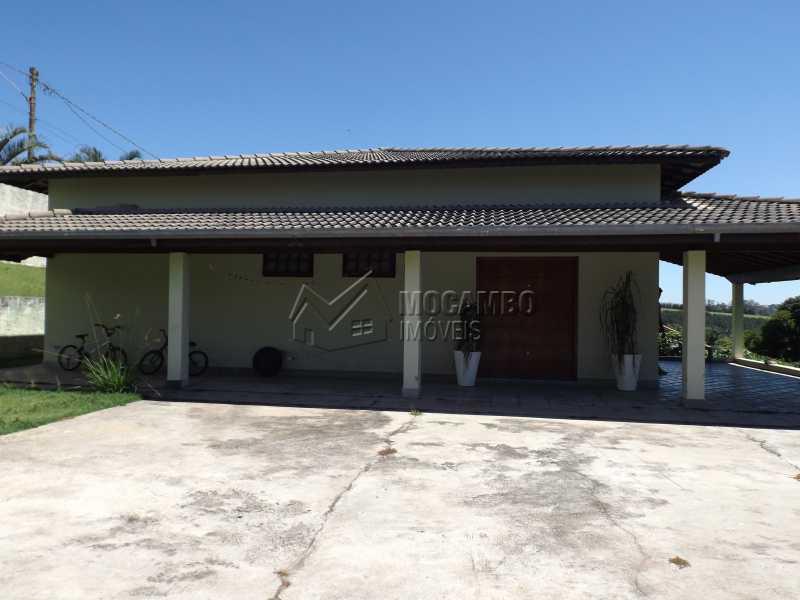 Frente da Casa - Chácara 1250m² à venda Itatiba,SP - R$ 590.000 - FCCH30089 - 1