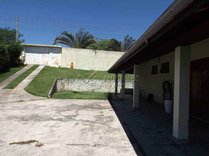 Àrea Externa  - Chácara 1250m² à venda Itatiba,SP - R$ 590.000 - FCCH30089 - 3