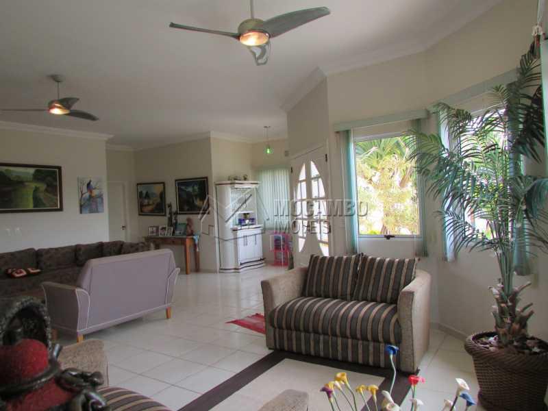 Sala de Estar - Casa em Condomínio 3 quartos à venda Itatiba,SP - R$ 960.000 - FCCN30292 - 1