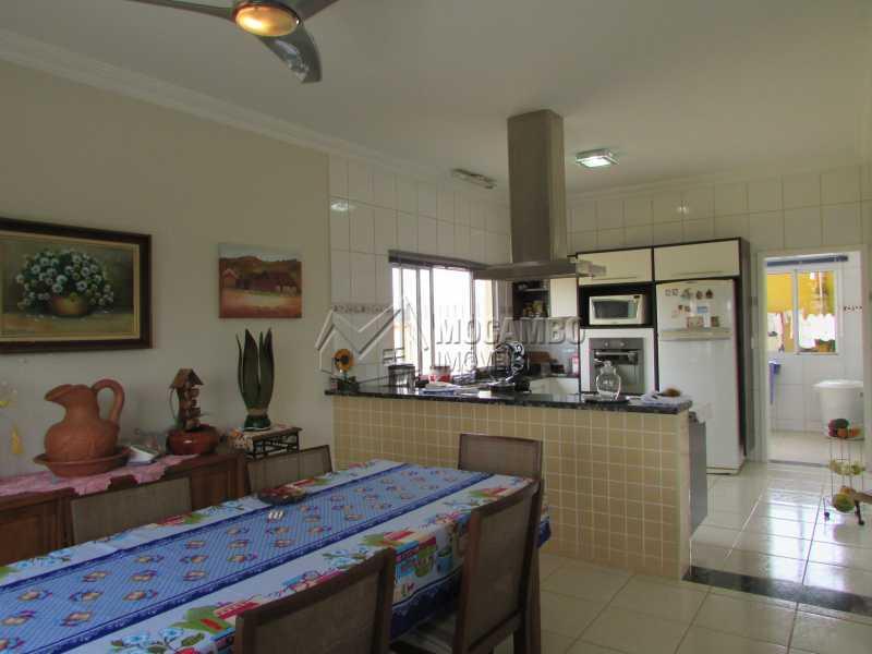 Sala de Jantar / Cozinha - Casa em Condomínio 3 quartos à venda Itatiba,SP - R$ 960.000 - FCCN30292 - 17
