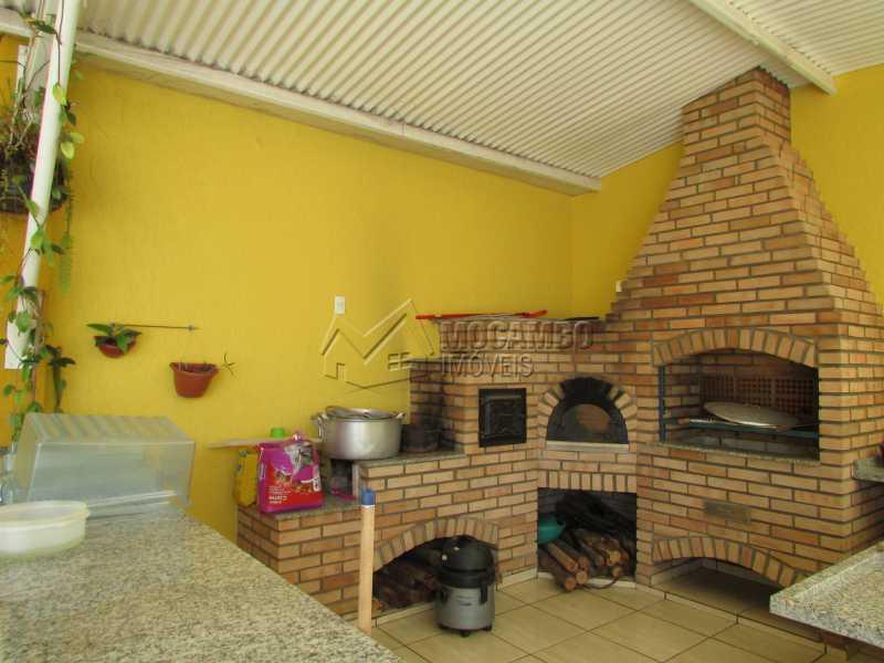 Churrasqueira - Casa em Condomínio 3 quartos à venda Itatiba,SP - R$ 960.000 - FCCN30292 - 23